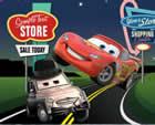 Verdás autóverseny, őrült ugró autók